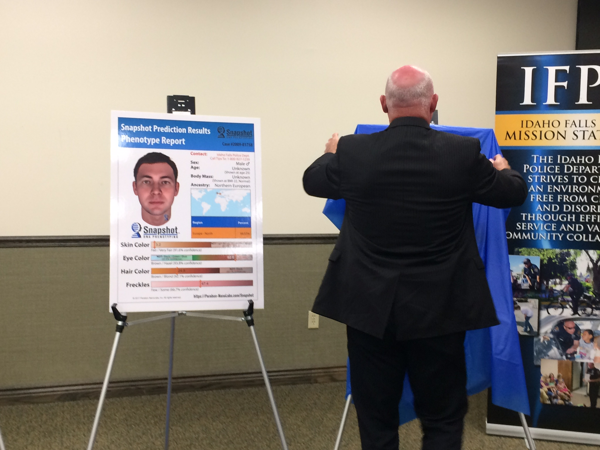 Police unveil picture of man who killed Idaho Falls woman