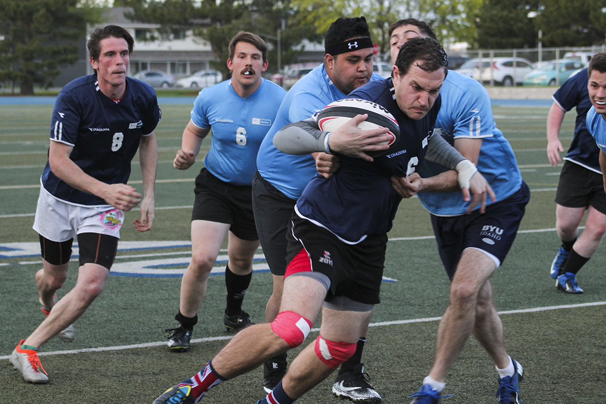 Rugby: The ruck comes to Rexburg