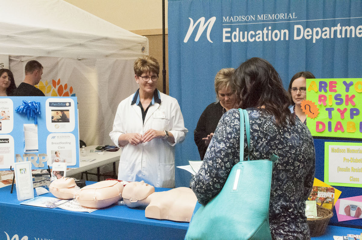 Wellness fair helps heal in Rexburg