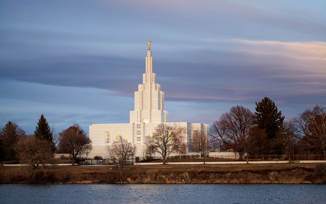 The Temple by the River: A reflection of the rededication
