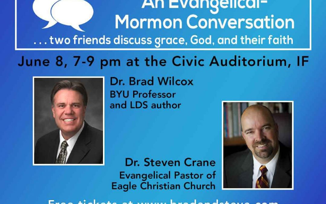 Evangelicals and Mormons get together in local dialogue event