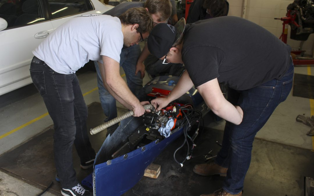 BYU-Idaho supermileage team participates in international competition