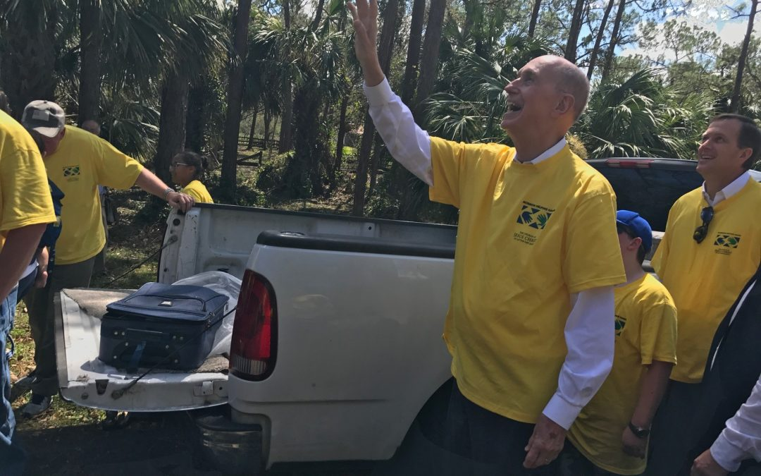 Church leaders provide aid to Hurricane Irma victims