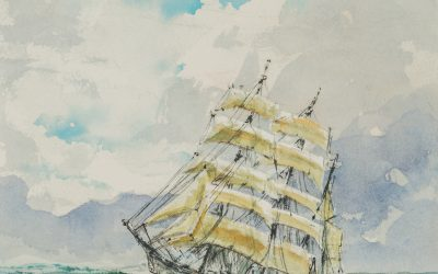 President Henry B. Eyring's artwork to be displayed at BYU-Idaho's art gallery