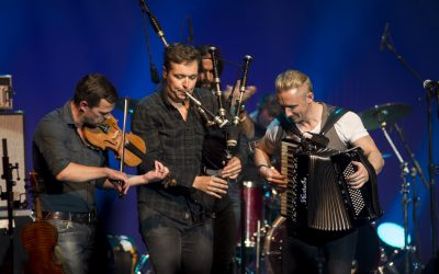 Skerryvore brings the Kirkham Auditorium to its feet