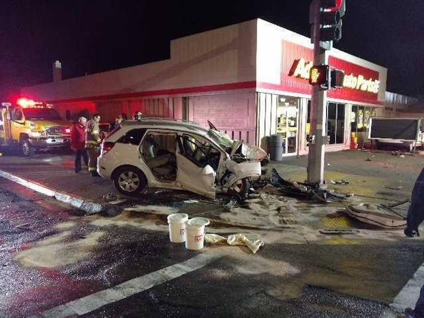 Man booked for felony DUI after 4 are rushed to hospital following crash
