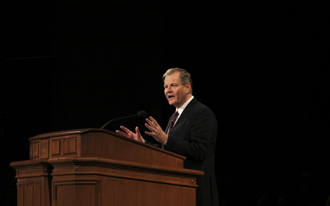 Elder Stevenson addresses the legacy of Presidents of The Church at Devotional