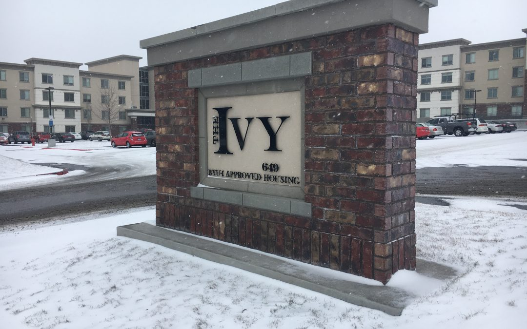 Changes in The Ivy Apartments' parking