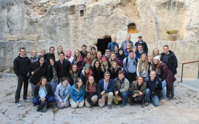 What's it like going to the BYU Jerusalem Center during these times?