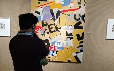 WATCH: The man behind the art