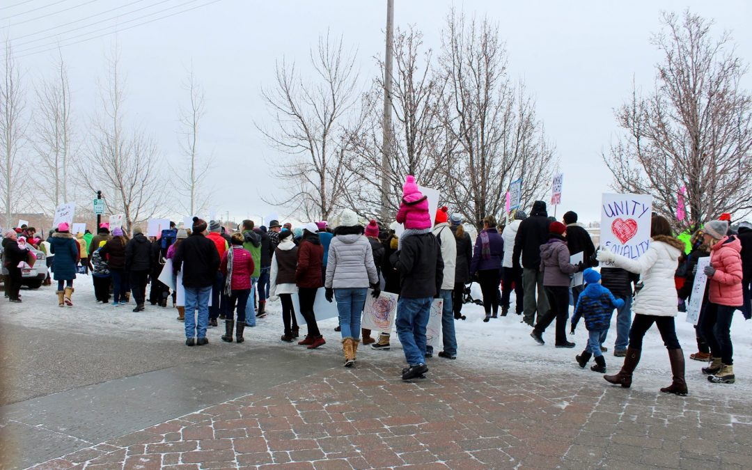 Women's march for equality: Idaho Falls, Logan and worldwide