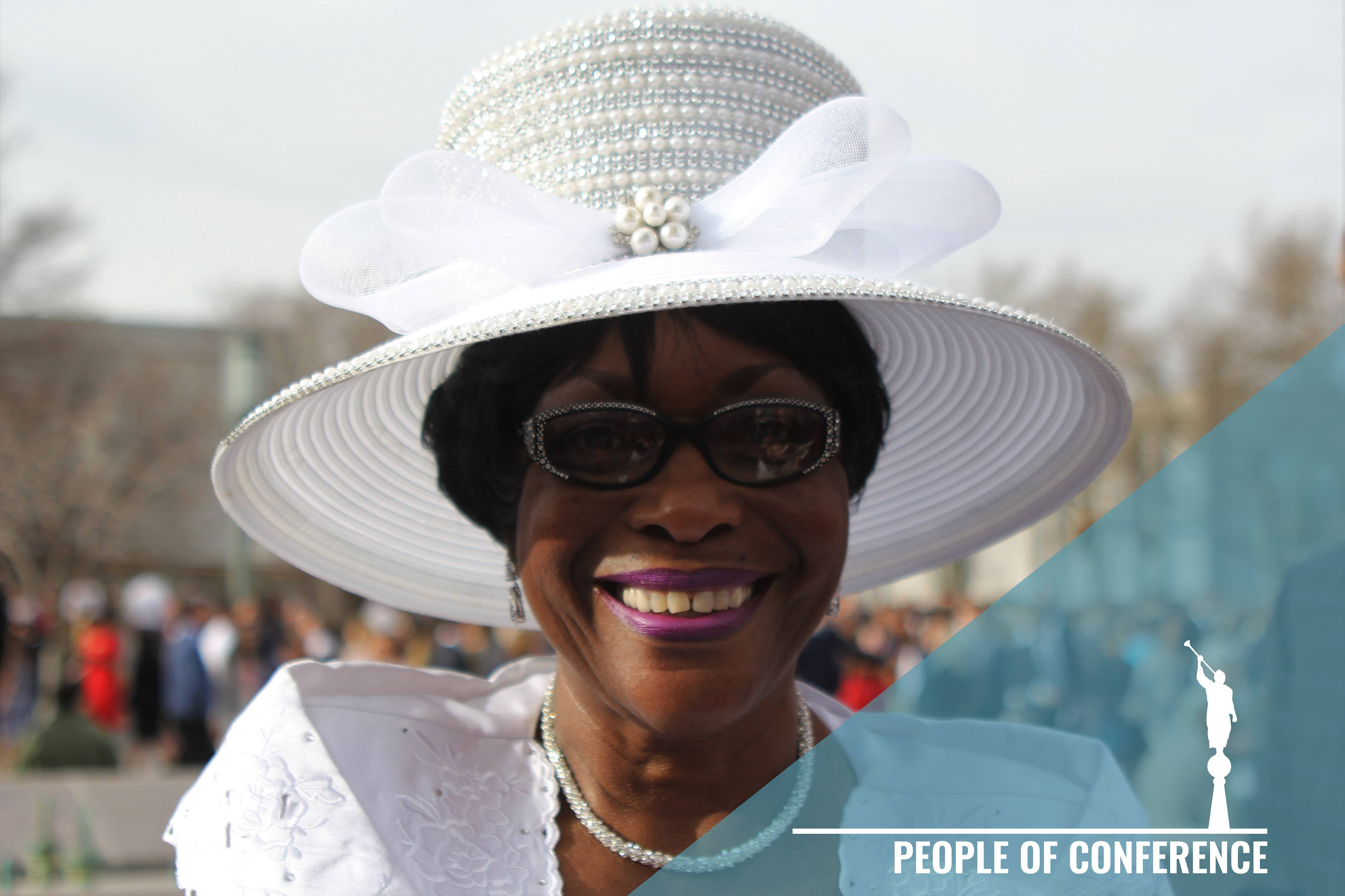 """""""I am a pastor of a Non-Denominational church visiting. This is my first time here and I'm sure it's going to be an awesome time."""" Jacqualine Thomas (Big Mama)- Pocatello, Idaho"""