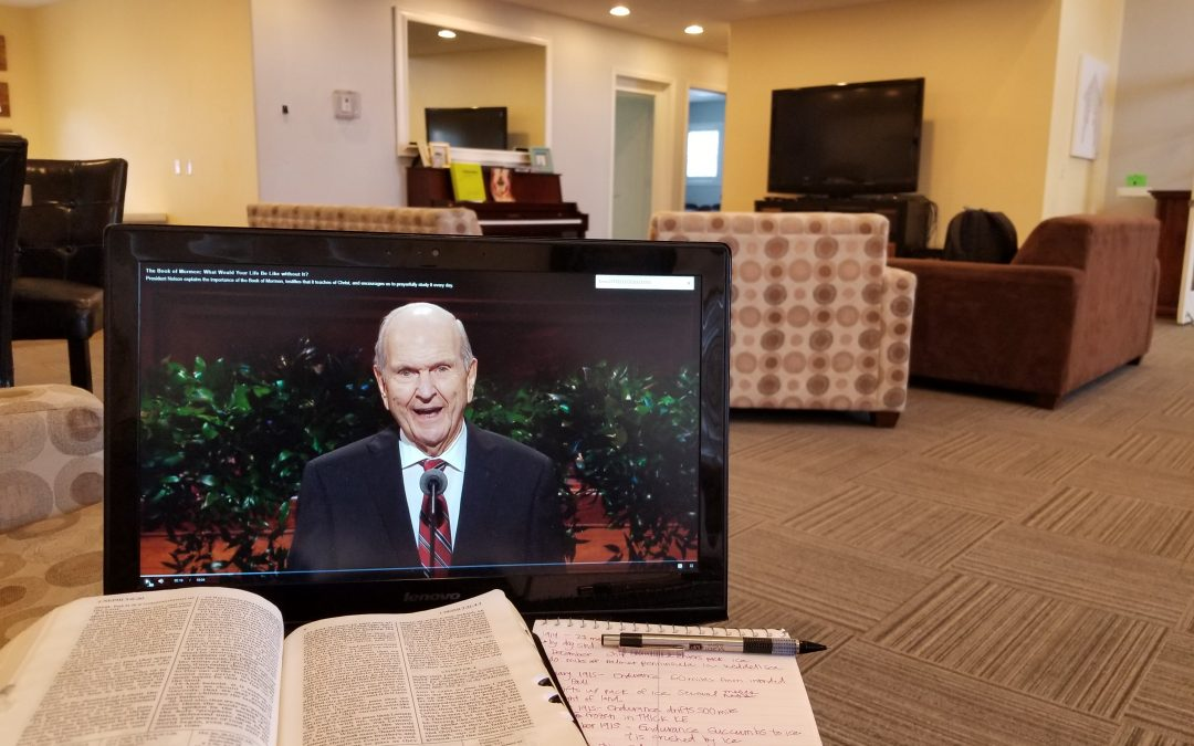 Four ways to prepare for general conference