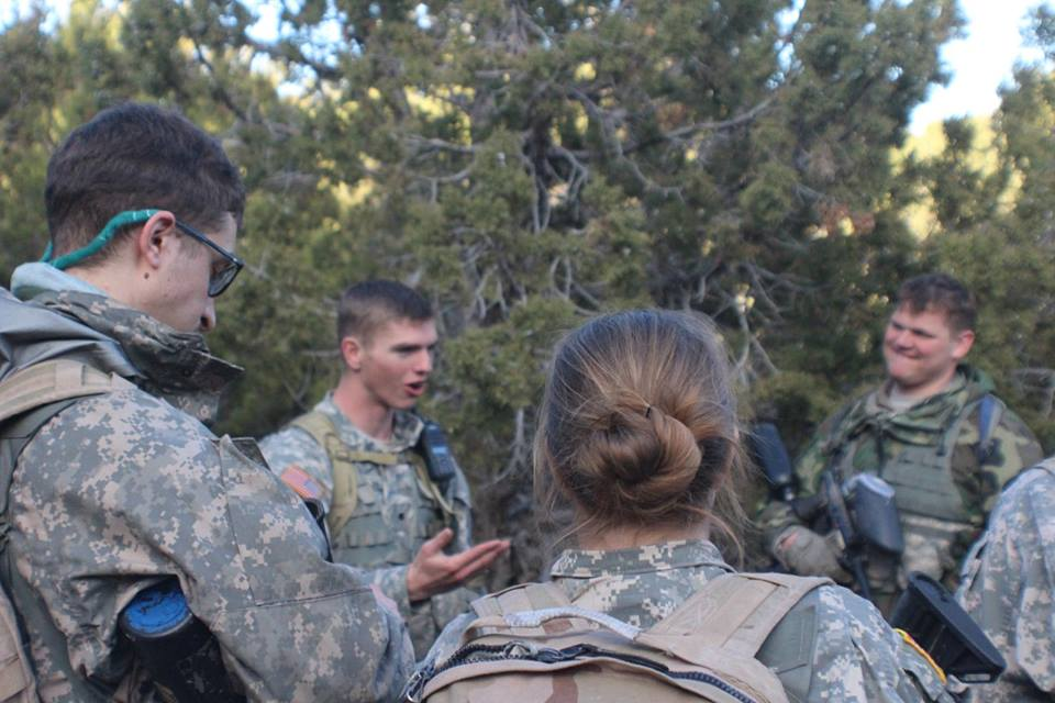 BYU-I ROTC experiences rigorous training
