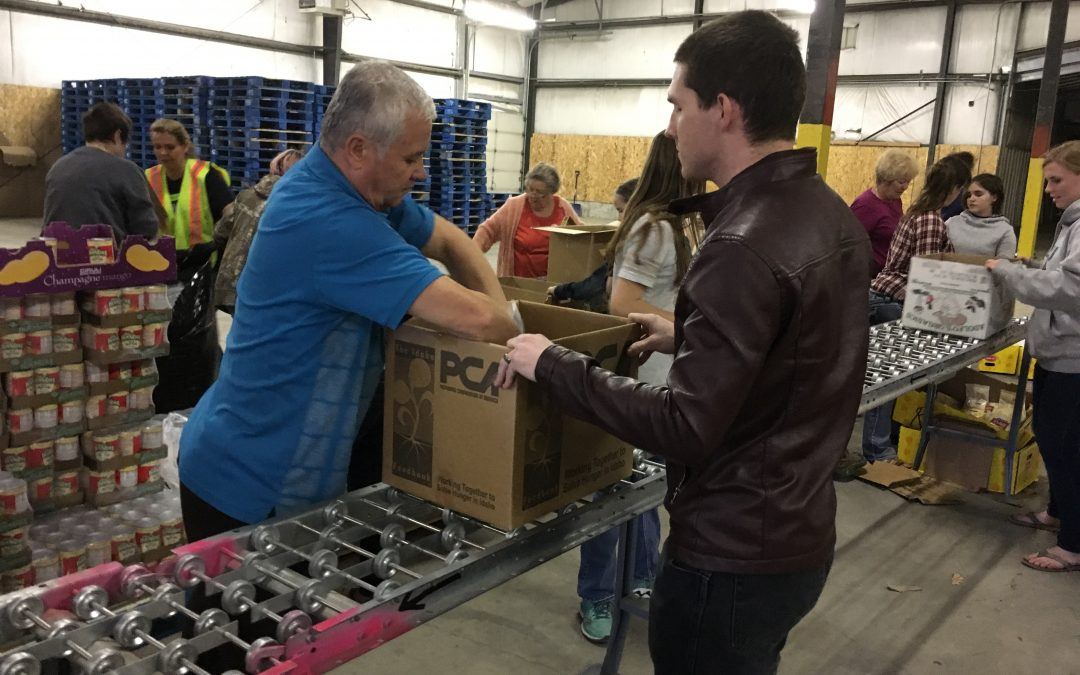 Citizens help one another at Rexburg Mobile Food Pantry