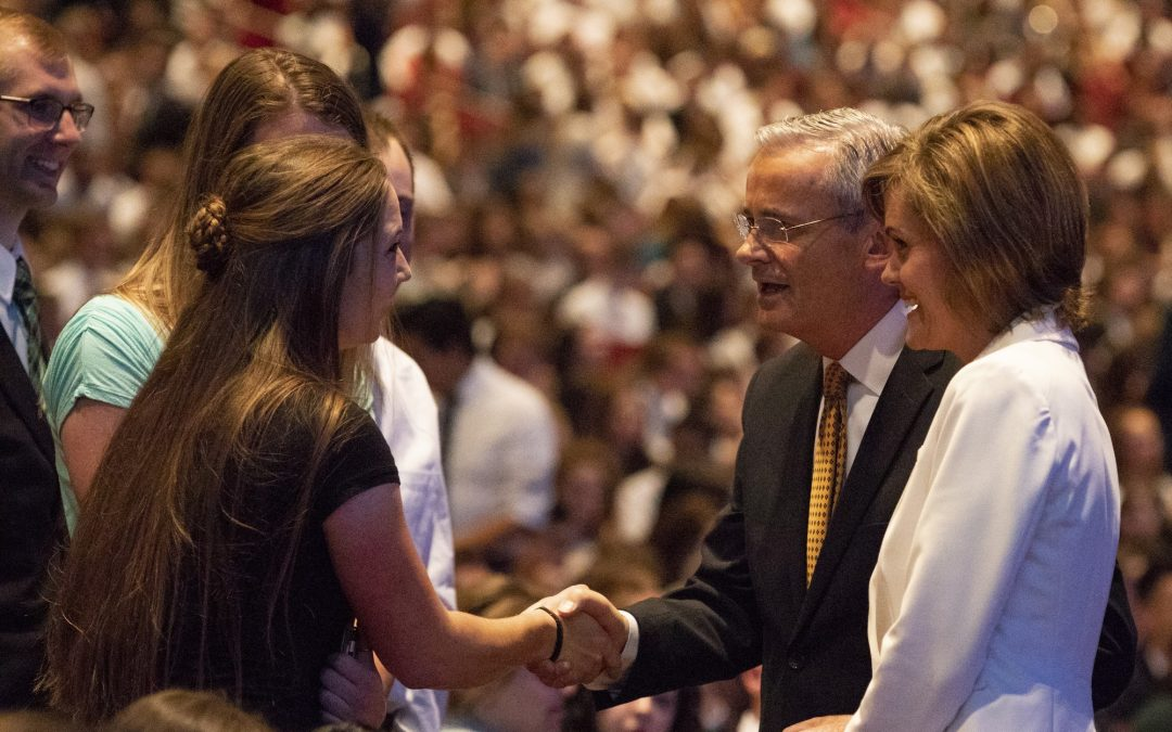 BYU-Idaho hosts Worldwide Devotional with Elder Patrick Kearon and Sister Kearon