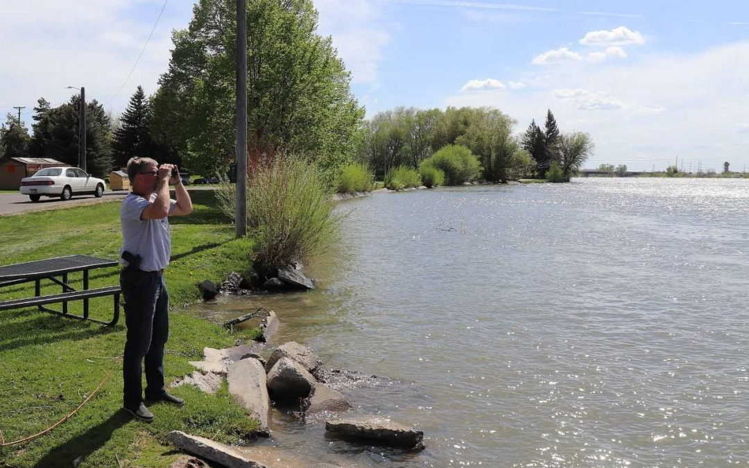 Woman missing after falling into the Snake River in Idaho Falls