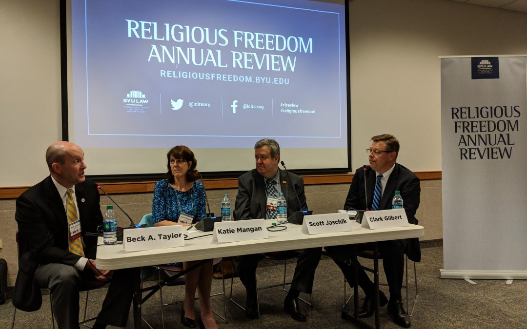University president discusses LGBT rights and religious freedom