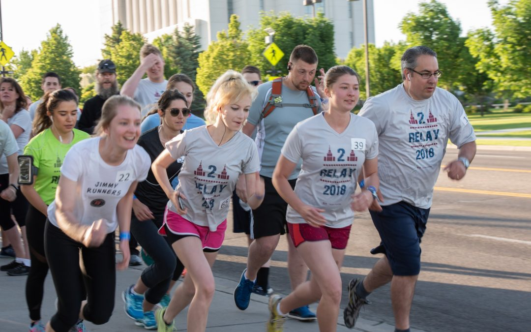 Runners set their sights on the temple