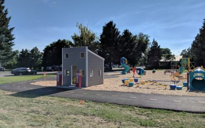 WATCH: Community comes together to revive park