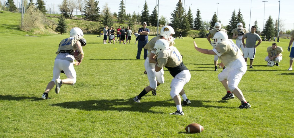 WATCH: BYU-Idaho competitive football try-outs