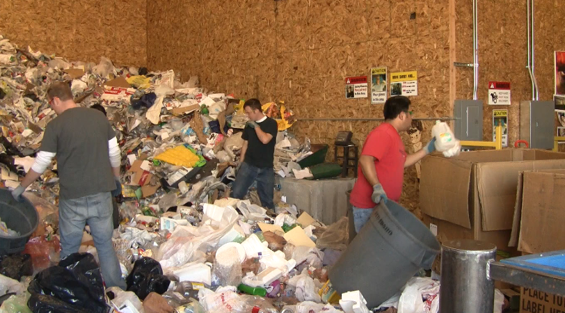 Recycling Center Open House
