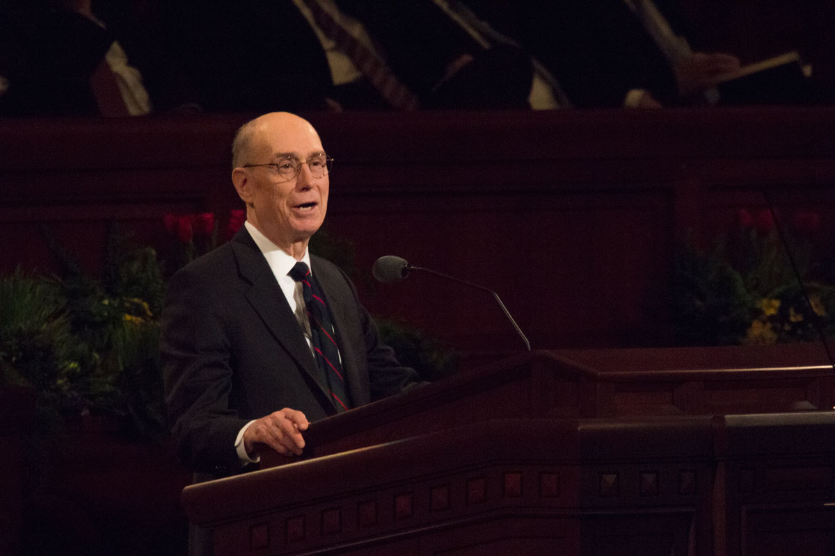 GENERAL CONFERENCE April 2019: President Eyring suggests 5 questions to ask yourself before you sustain a Church leader