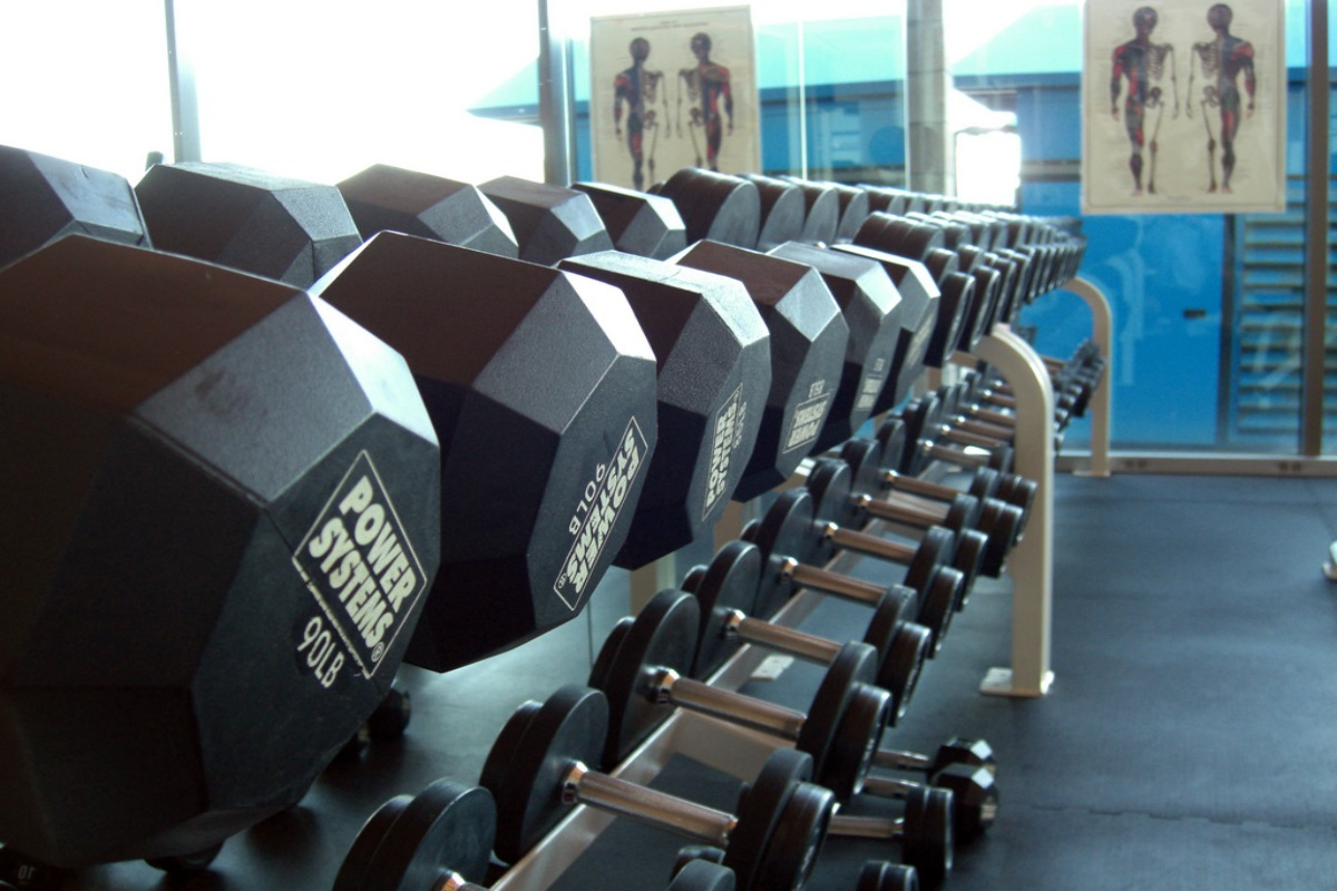 Weights, dumbbells, workout, fitness, health
