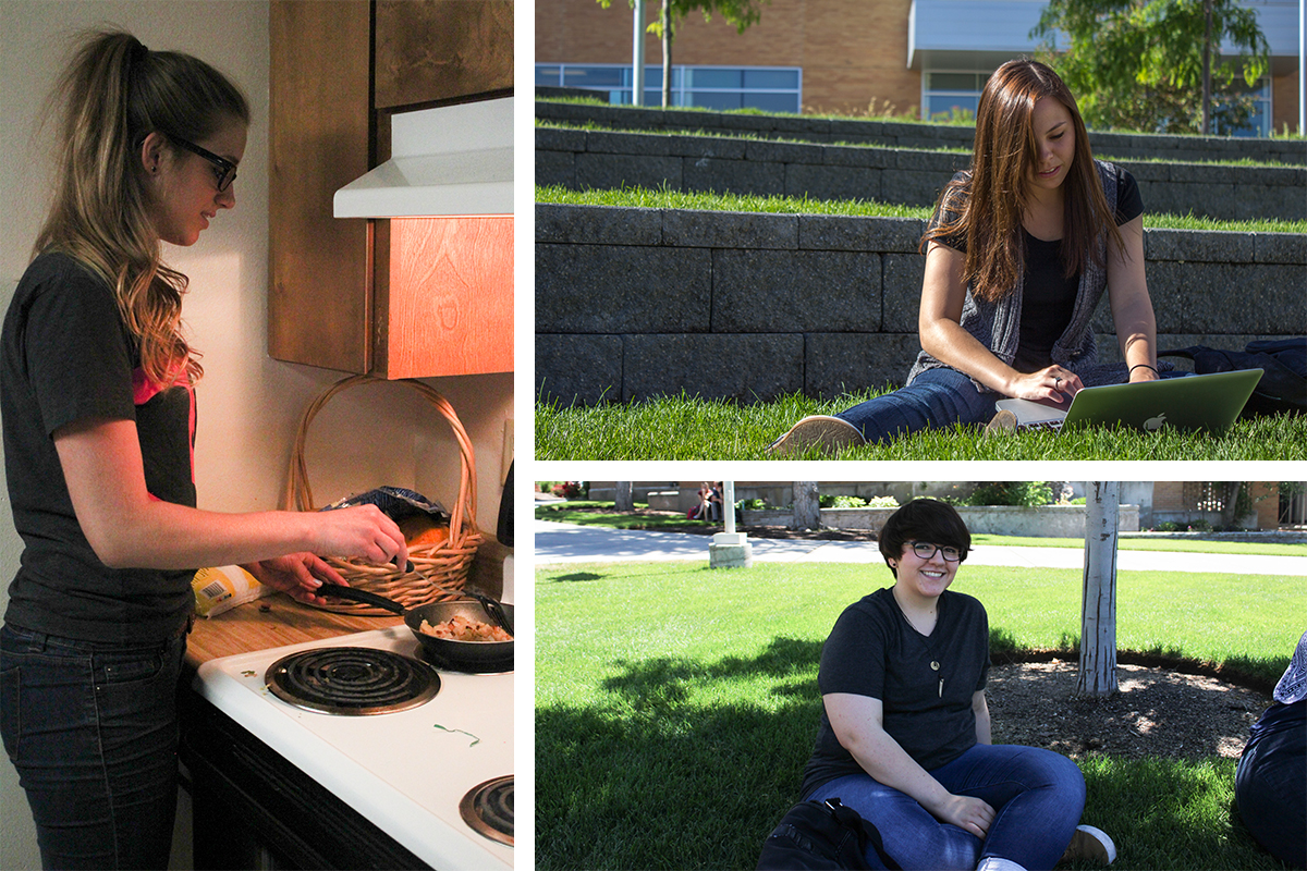 People of BYU-I: Rebecca, Randee and Timmerie