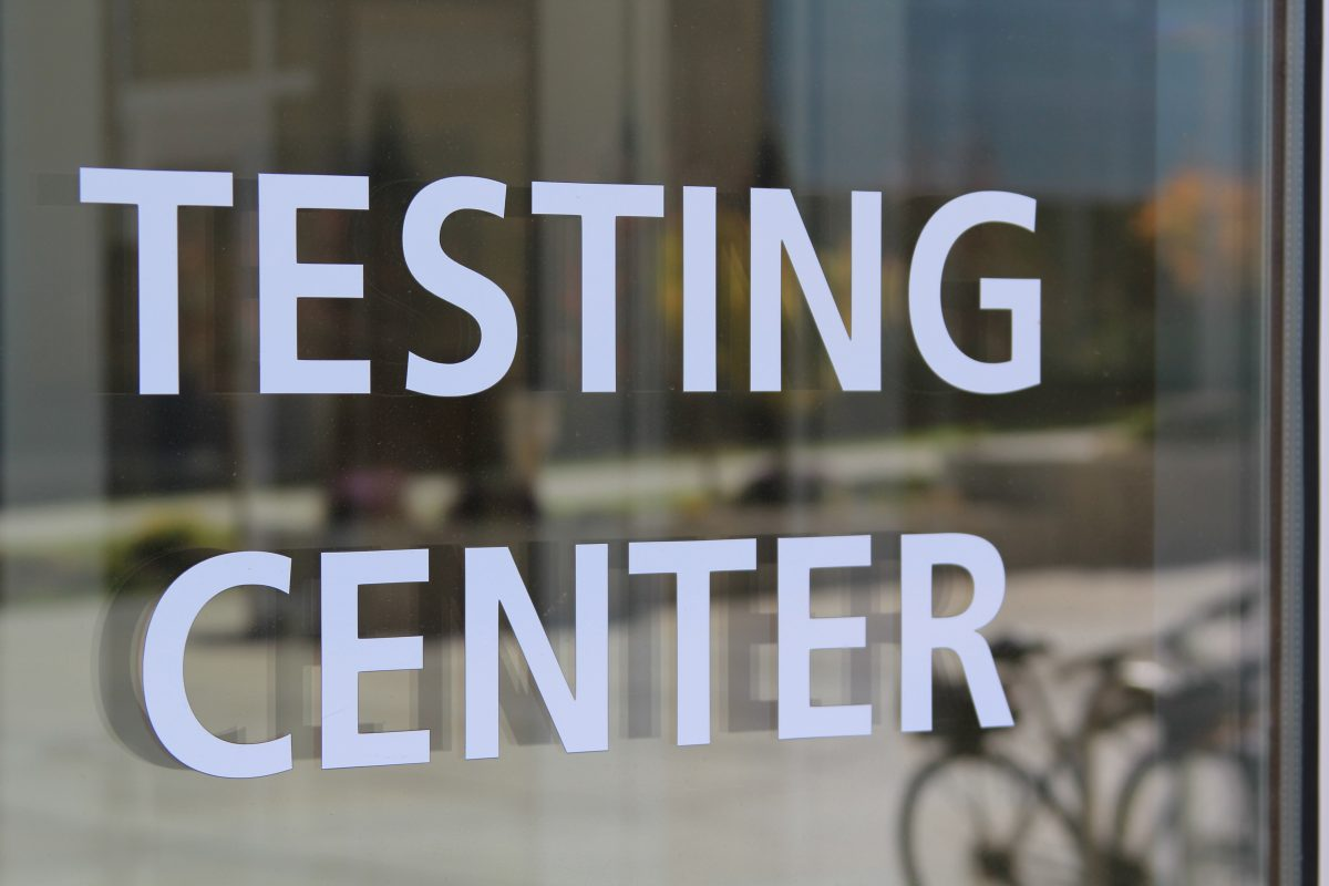 Testing Center announces brief closure at end of the month