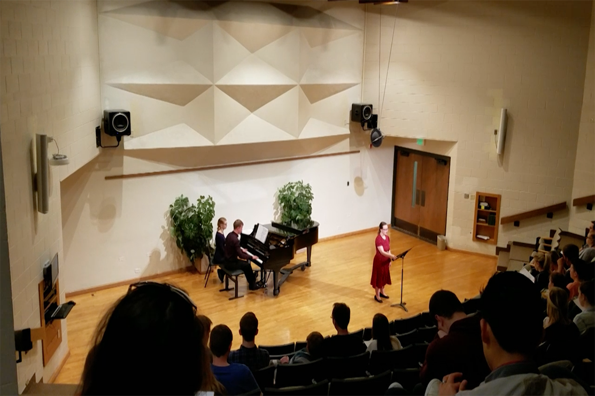 Students showcase talents at recital performance