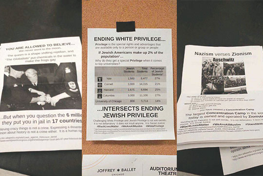 Jewish hate crimes abound on campuses