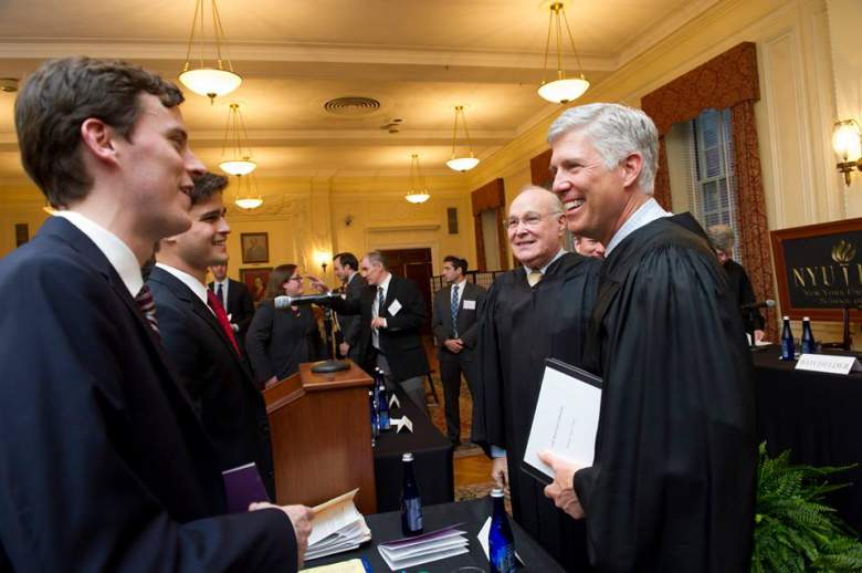 Gorsuch fights for faith rights