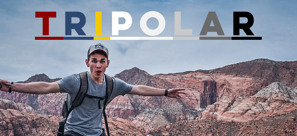 Photo of Justin Shoemaker who started the Tripolar blog about living life to the fullest despite bipolar disorder