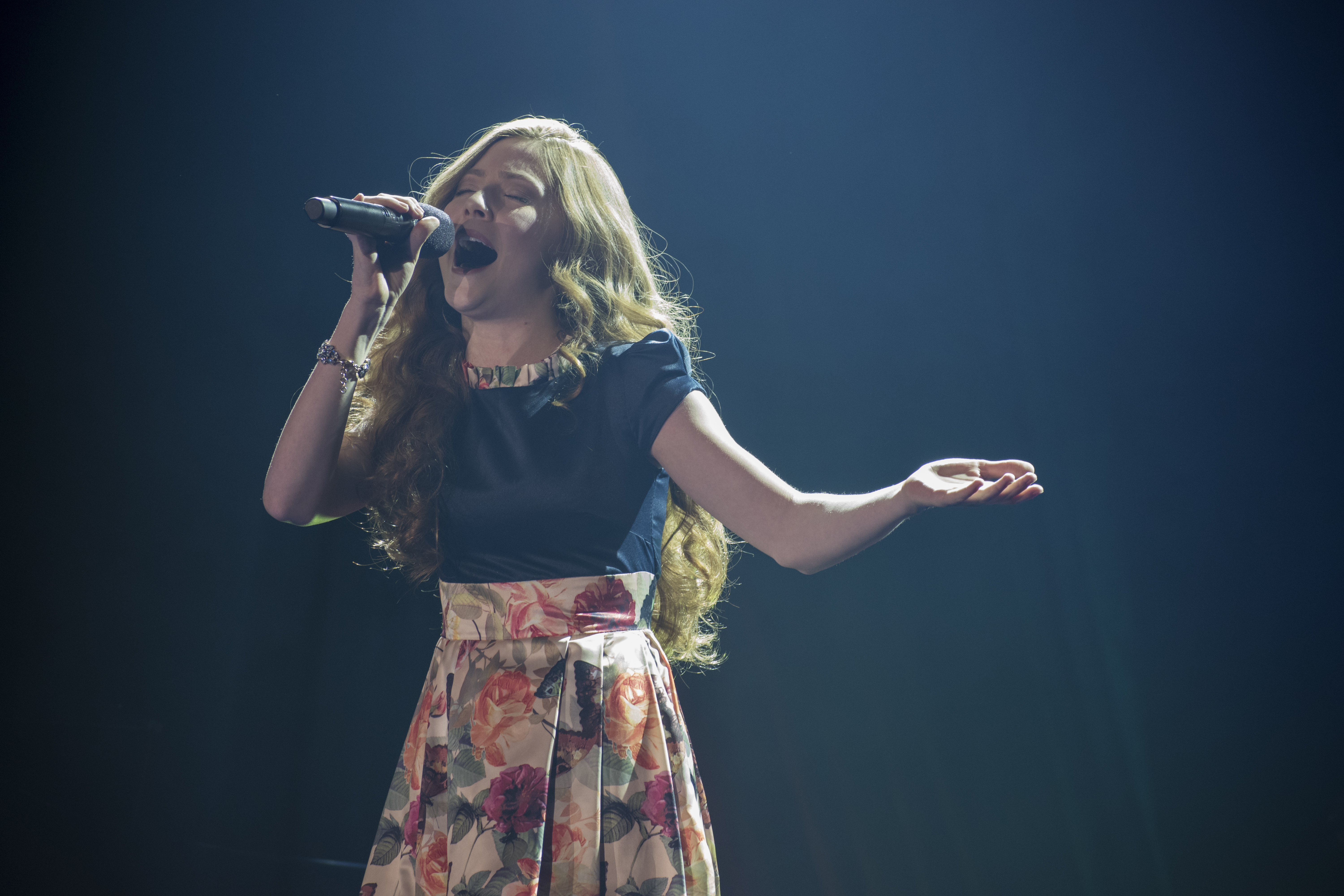 Lexi Walker performs with Gentri in the Hart Auditorium, Friday October 13th