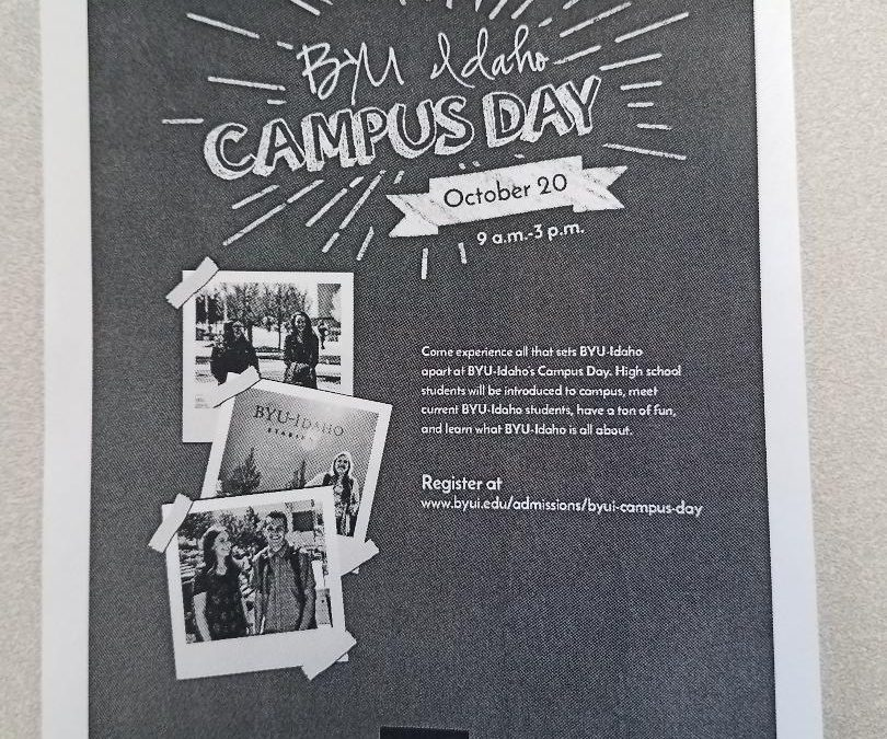 BYU-Idaho's first ever campus-wide tour invites prospective students