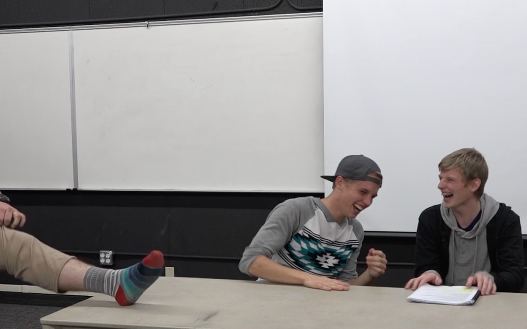 WATCH: the Humor Code brings comedy and laughter to BYU-Idaho