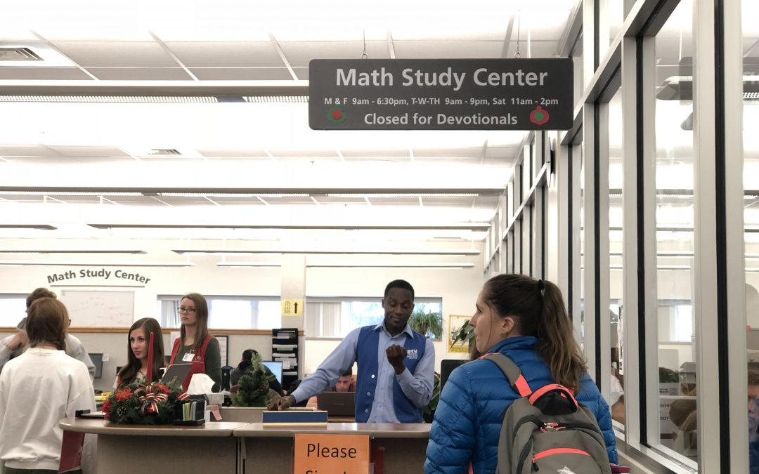 BYU-I offers a solution for students who struggle with math