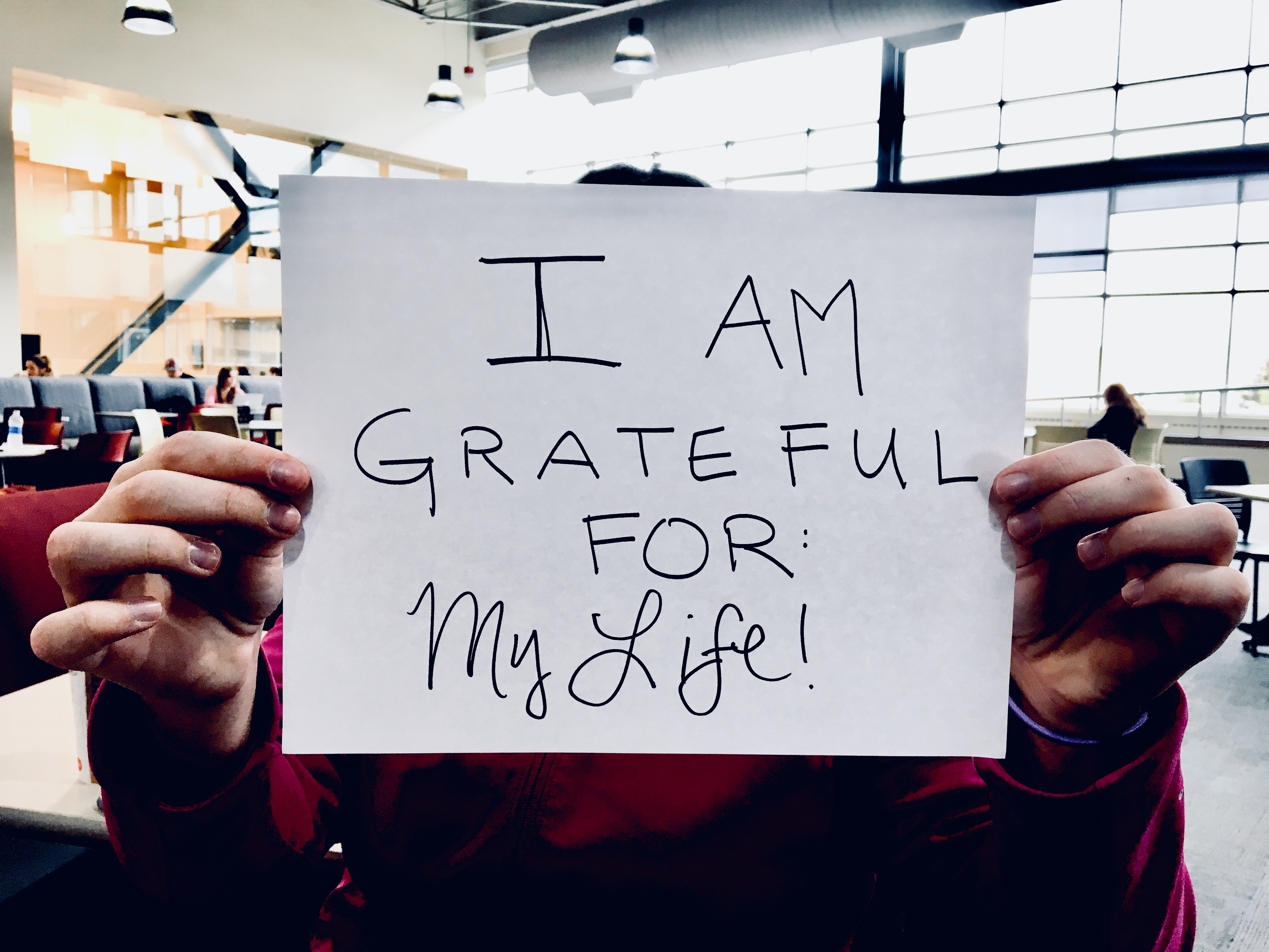 grateful for.. my life