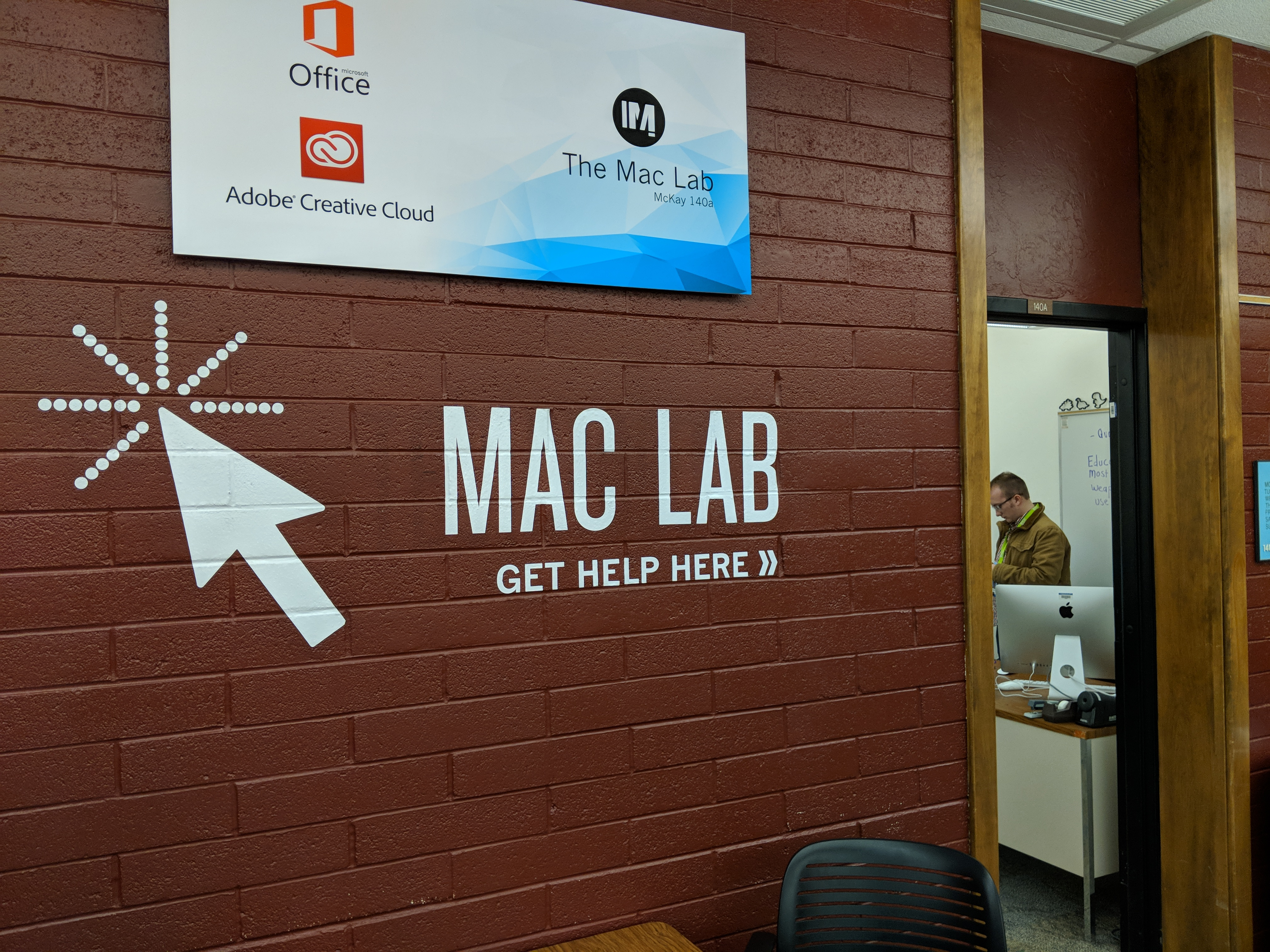 Students at BYU-Idaho have the opportunity to attend an Adobe Suite Workshop taught by Mac Lab employees, to learn the main Adobe programs on Jan. 25.