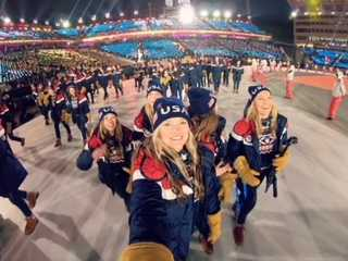 JessiKa Jenson returns from Olympics: A Homecoming to remember