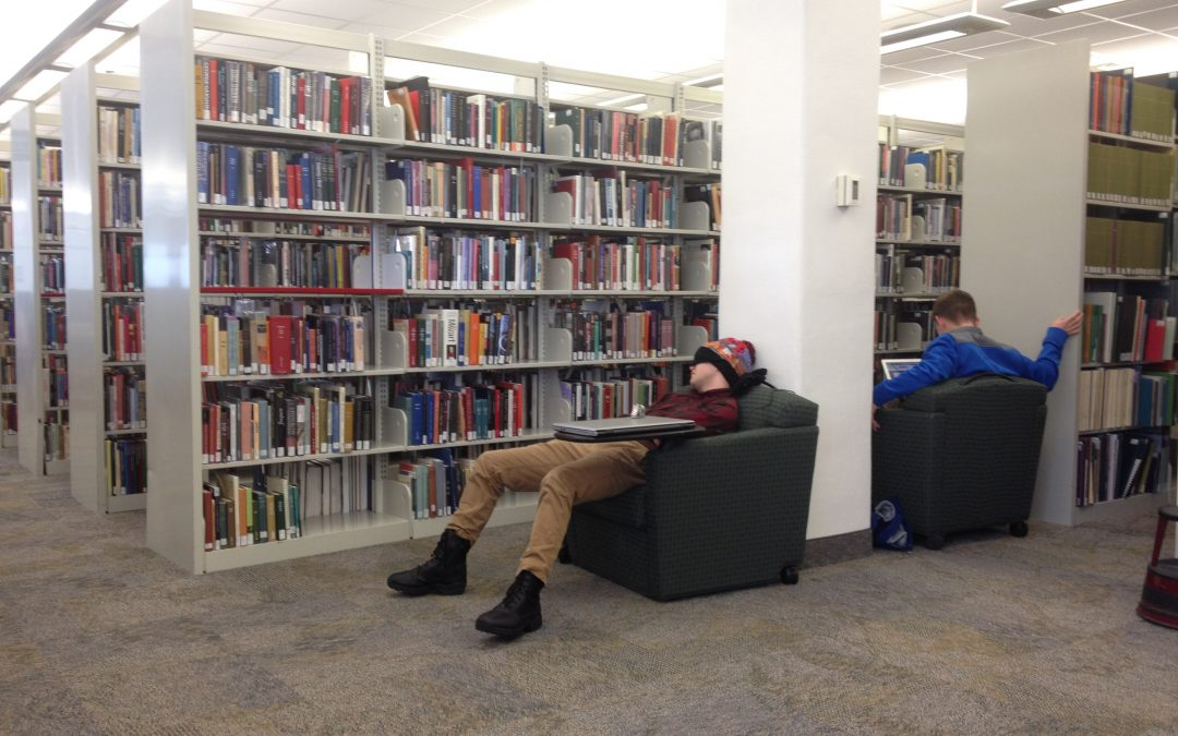 Top 7 places to take a nap on campus