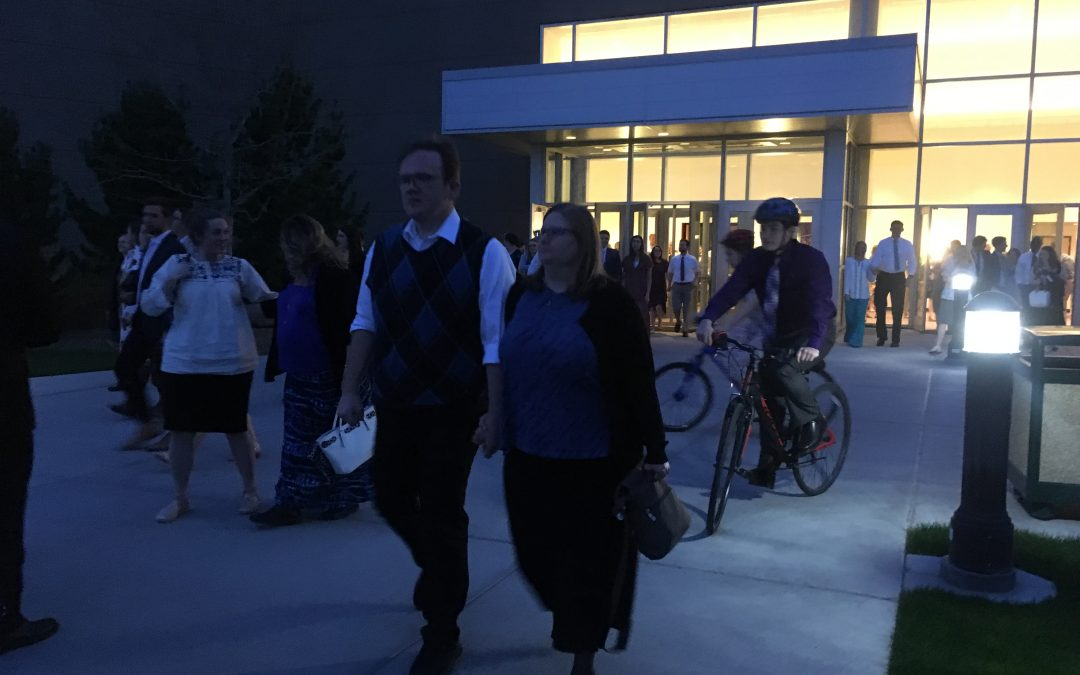 Elder Holland addresses BYU-I married couples on priorities in marriage