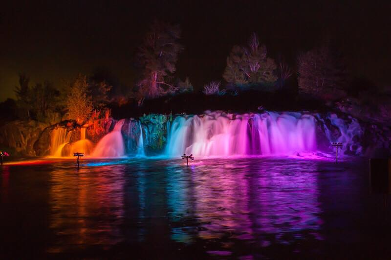 Discover a fascination with light at the Nature Park Light Show