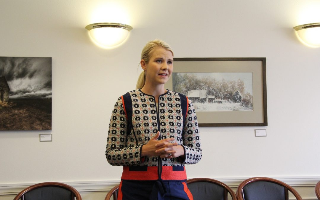 The end goal is happiness: Elizabeth Smart shares her story