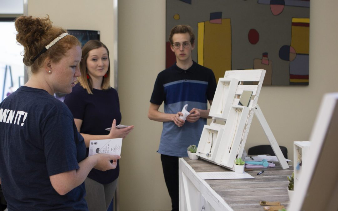 Students start and run businesses on campus