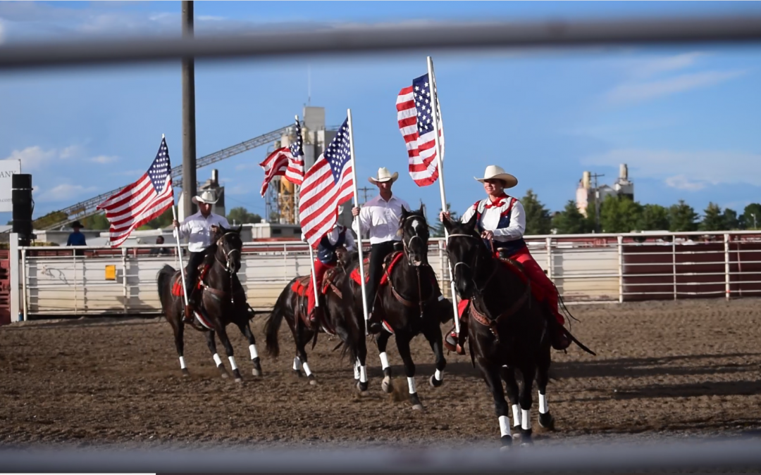 WATCH: Whoopee Days Rodeo ropes Rexburg