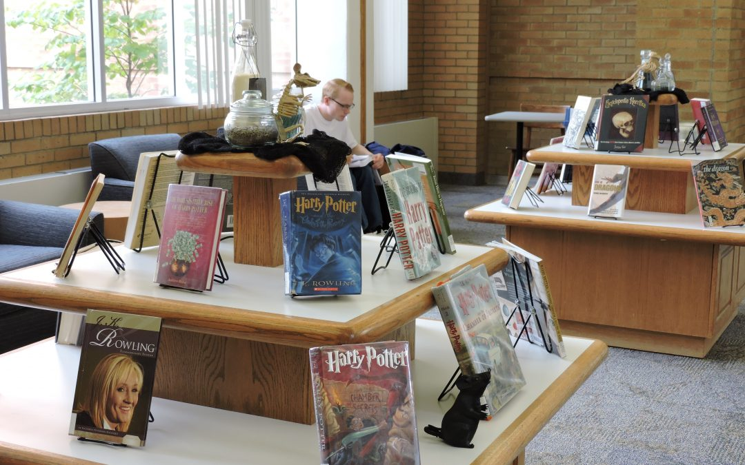 The magic in the David O. Mckay Library begins
