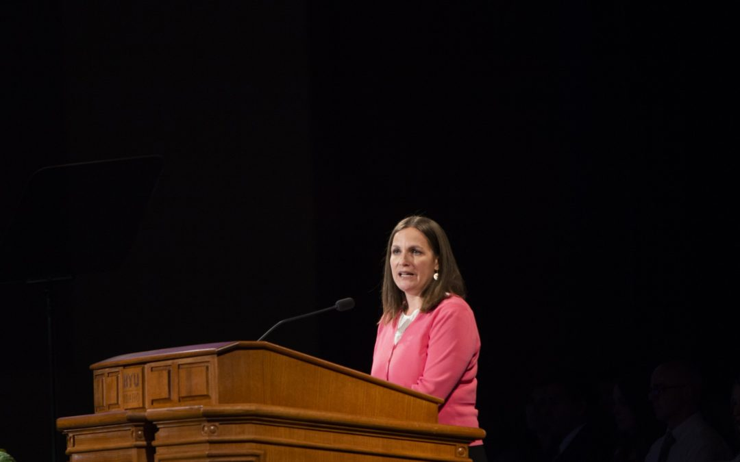 BYU-Idaho Devotional Assembly on Oct. 2
