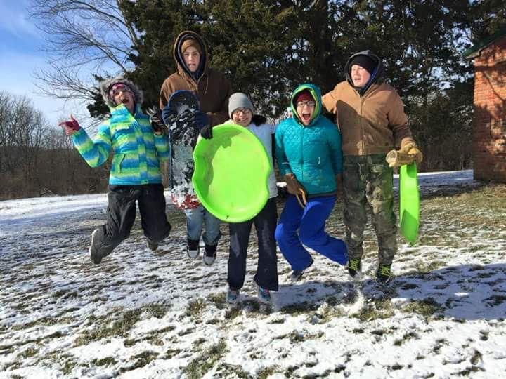 Winter fun for college students